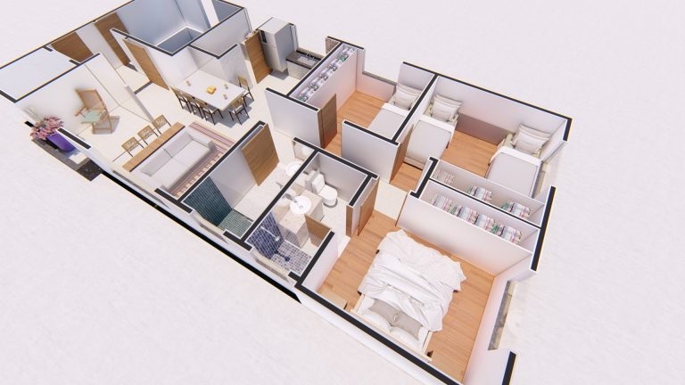 Planta Apartamento 301-2