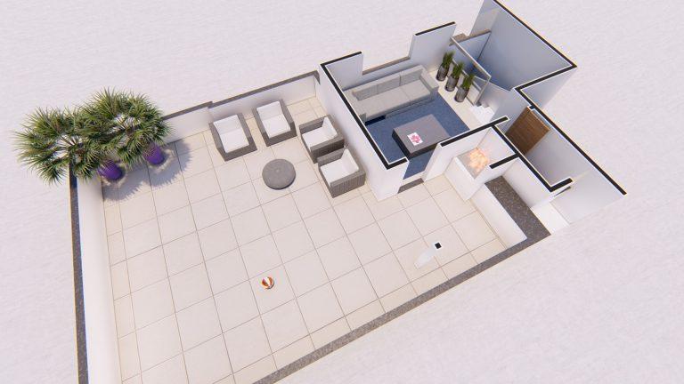 Planta Apartamento - Cobertura 401