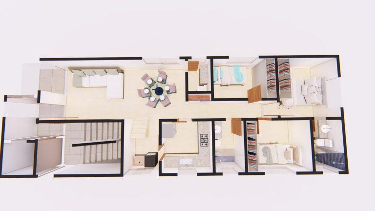 Apartamento Cobertura 1º Pavimento