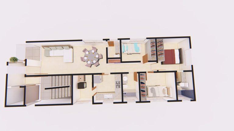 Apartamento Tipo Layout 01