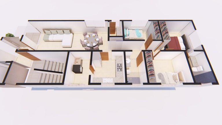 Apartamento Tipo Layout 02