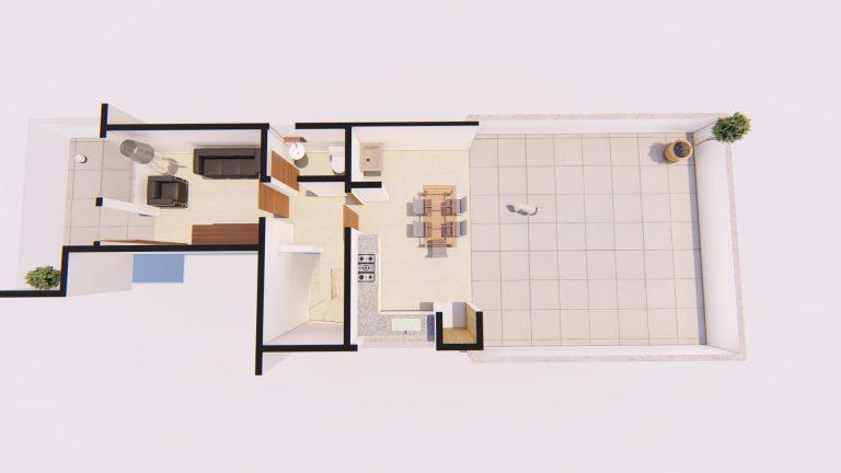 Apartamento Cobertura 2º Pavimento